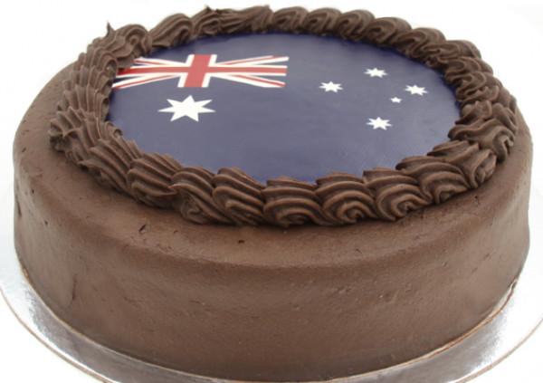 Australia Day Mud Cake - Larger