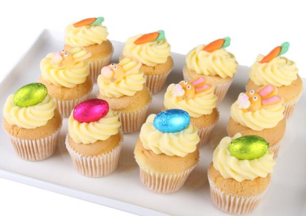 Easter Cupcakes - 4cm - Gluten Free vanilla