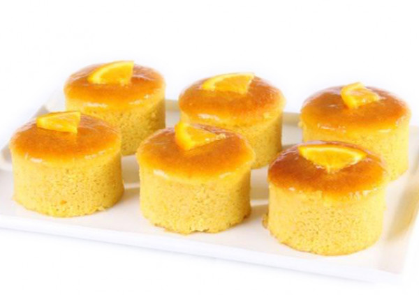 Flourless Orange & Almond Cakes