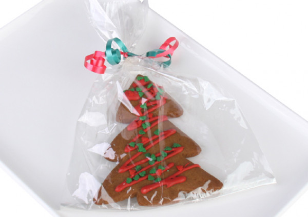 Gingerbread Christmas Tree - Wrapped