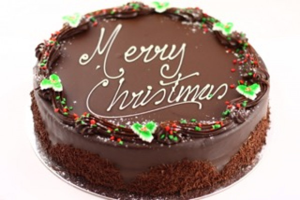 Christmas Mississippi Mud Cake
