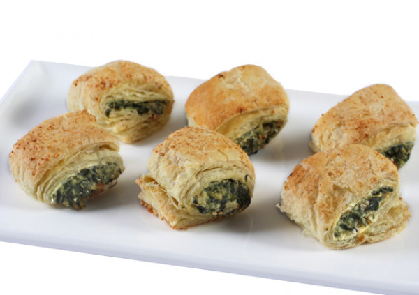 Mini Spinach Fetta Rolls