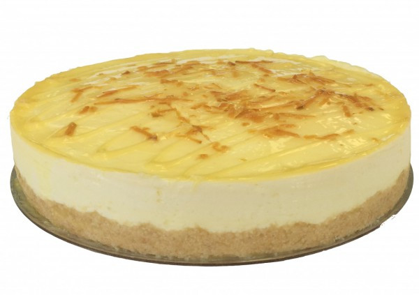 Lemon Coldset Cheesecake