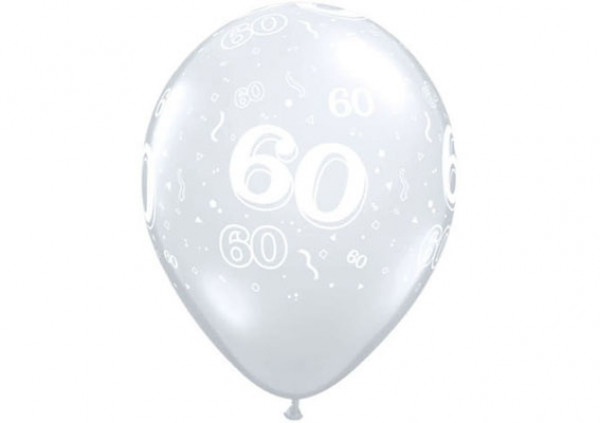 Qualatex Number Balloon '60'