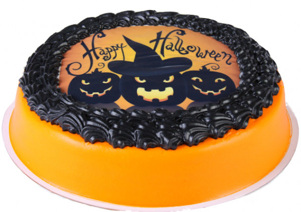 Halloween Cake - Chocolate Mud