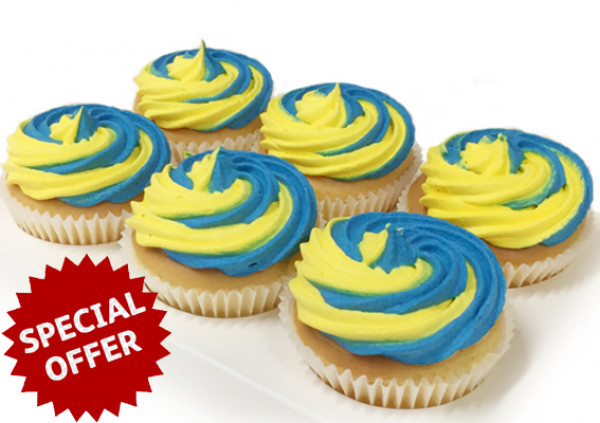 Australia's Biggest Morning Tea Cupcakes