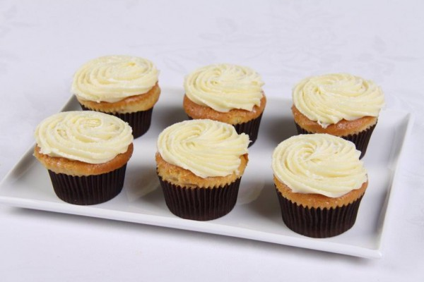 White Chocolate Mud Cupcakes