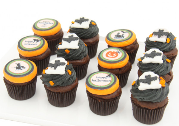 HALLOWEEN - Chocolate Cupcakes - 4cm