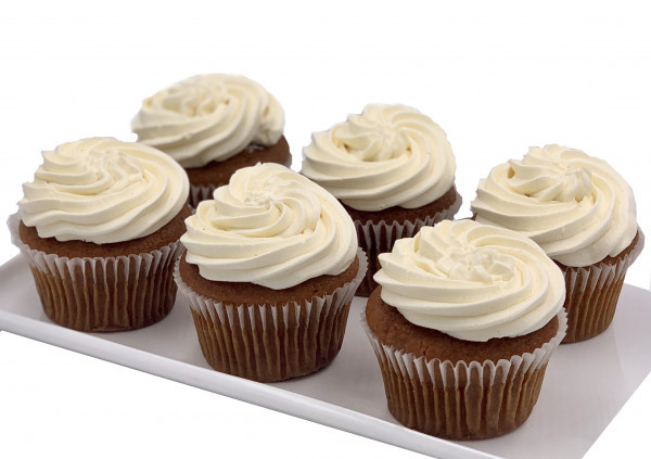 Dairy Free Carrot Cake Cupcakes - 7cm