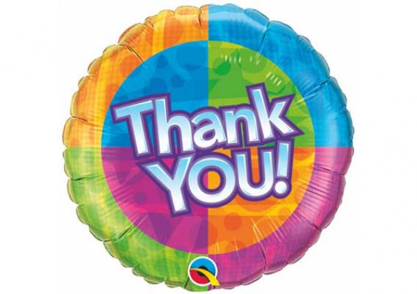 Thank You Foil Balloon - Cakes 2 U
