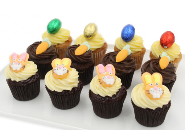 Easter Cupcakes - 4cm - Assortment