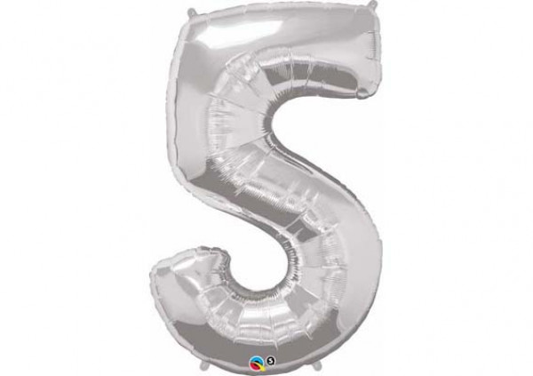 Foil Number Balloon '5'