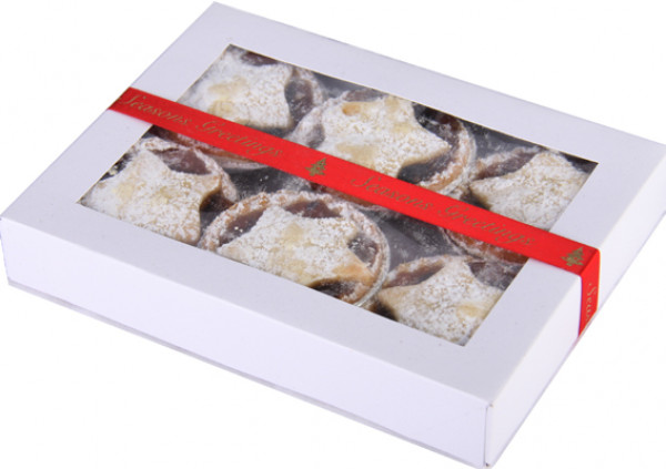 Christmas Fruit Mince Pies - 7cm - (Gift Box)