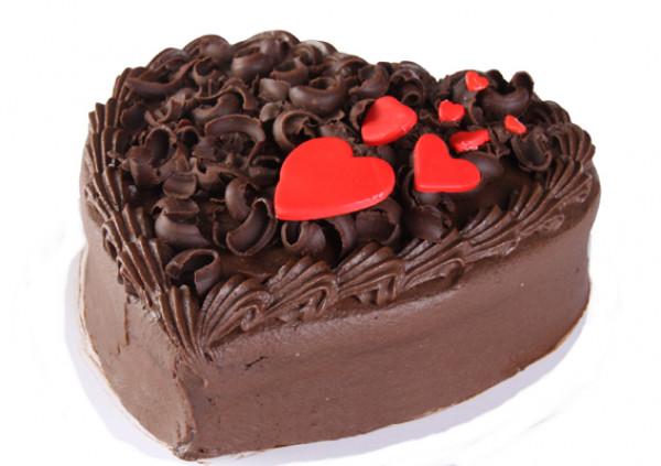 Large Heart Cake