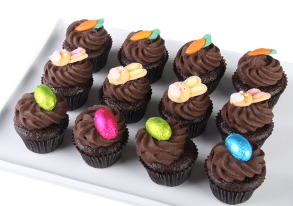 Easter Cupcakes - 4cm - chocolate