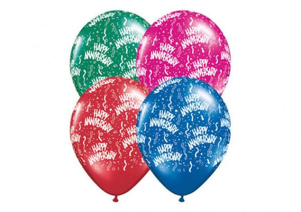 Happy Anniversary Balloons - Cakes 2 U