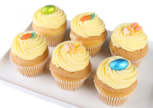 Easter Cupcakes - 7cm - vanilla