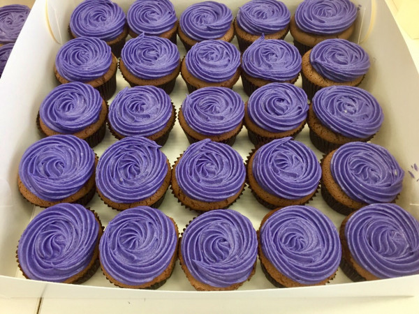Cupcakes - Purple Icing