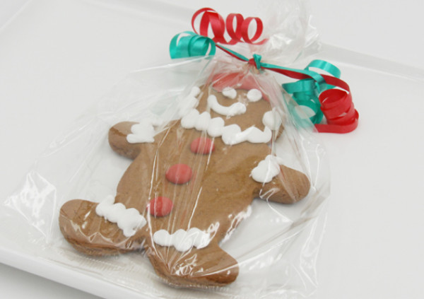 Gingerbread Santa - Wrapped