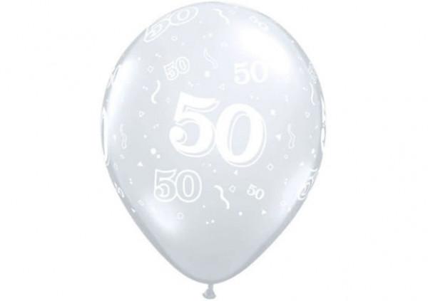 Qualatex Number Balloon '50'