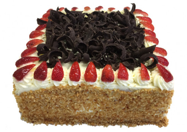 Strawberry Sponge Cake – Larger