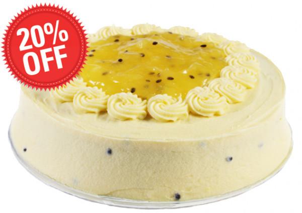 Passionfruit Banana Cake - Cakes 2 U