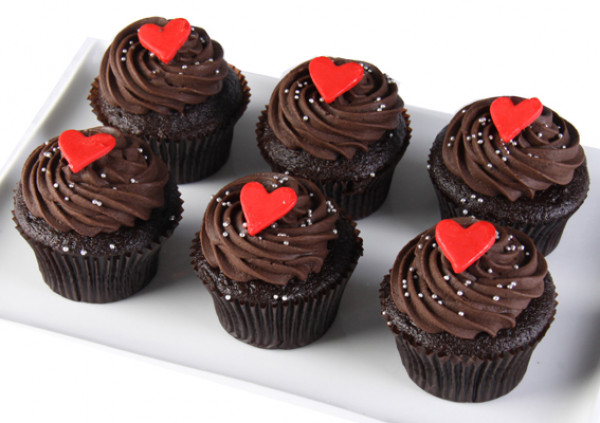 Valentine's Cupcakes – assorted
