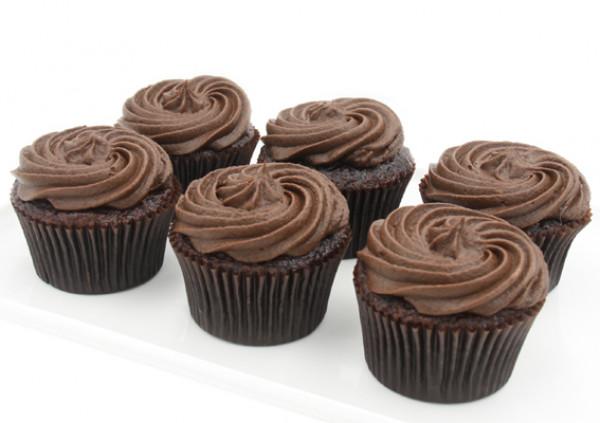 Gluten Free Chocolate Cupcakes - 7cm