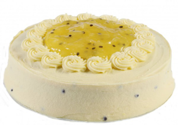 Passionfruit Banana Cake