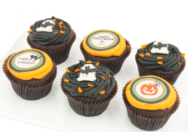 HALLOWEEN - Assorted Cupcakes - 7cm