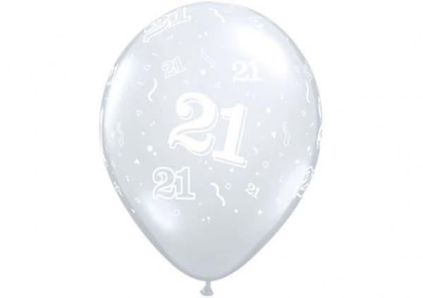 Qualatex Number Balloon '21'