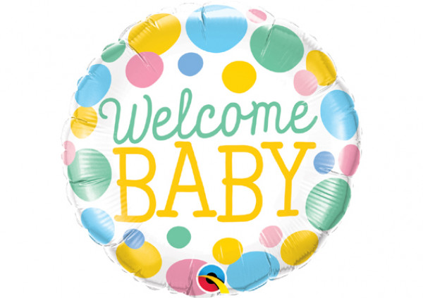 Welcome Baby Foil Balloon - Cakes 2 U