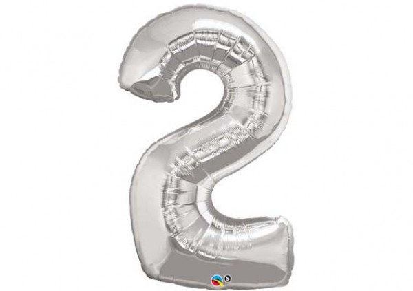 Foil Number Balloon '2'