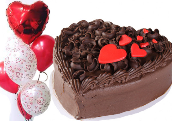 Small Heart Cake - PACKAGE DEAL