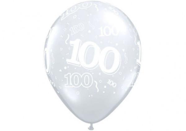 Qualatex Number Balloon '100'