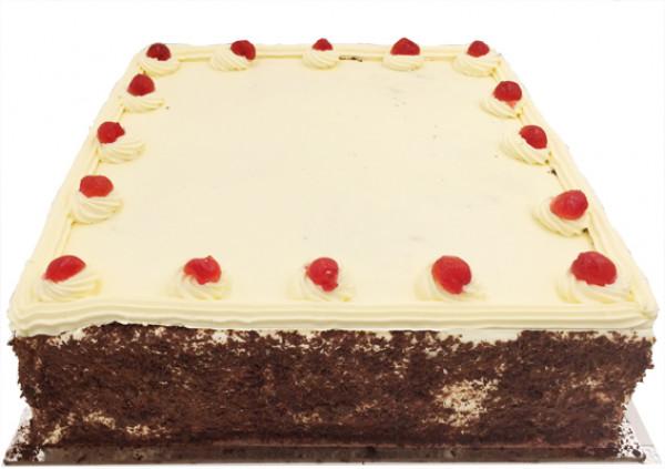 Chocolate Sponge Jam & Cream Cake – Larger - Cakes 2 U