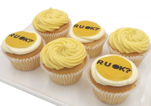 RUOK Cupcakes - 7cm