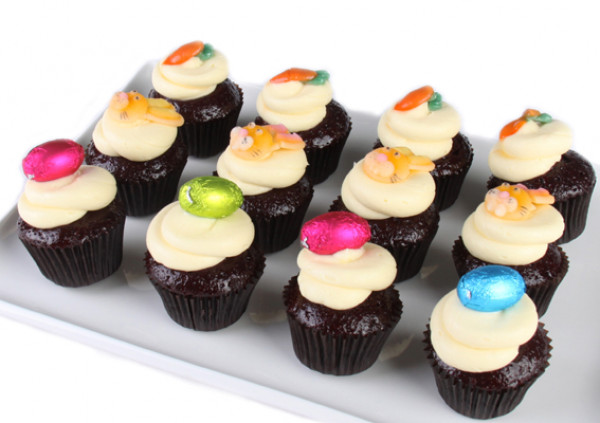 Easter Cupcakes - 4cm - Red Velvet