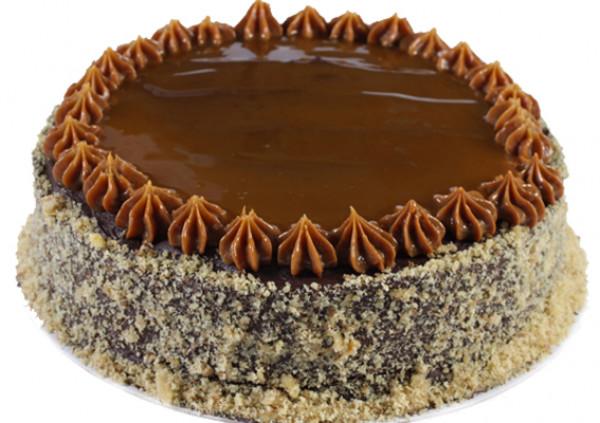 Caramel Chocolate Cake