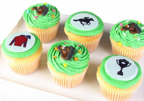 Melbourne Cup - Vegan Cupcakes - 7cm