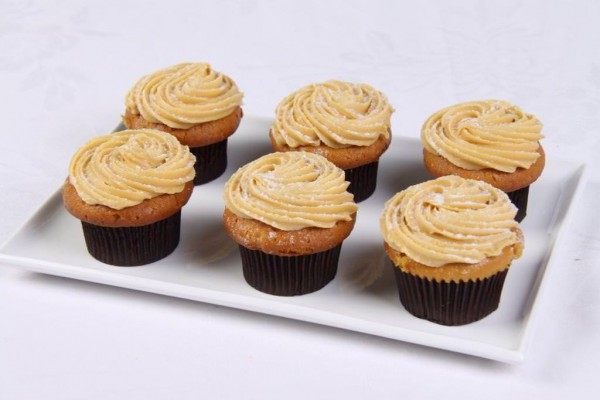 Caramel Mud Cupcakes