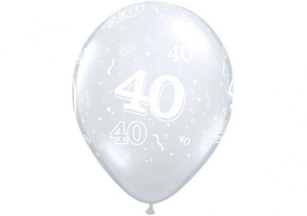 Qualatex Number Balloon '40' - Cakes 2 U